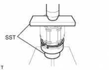 Передний приводной вал в сборе (для полного привода) СБОРКА