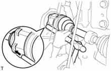 Передний приводной вал в сборе (для полного привода) УСТАНОВКА