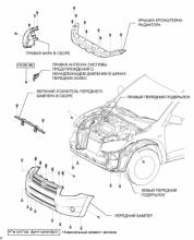 Антенна системы предупреждения о ненадлежащем давлении в шинах