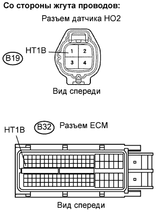 Устранение ошибки P0037 P0038 SFI 1AZ-FE TOYOTA RAV4 / ACA30, ACA33