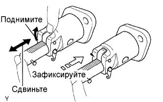 Проверка, замена цепи привода ГРМ двигателя 1AZ-FE.