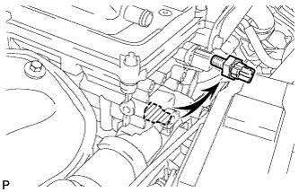 Система смазки 1AZ-FE Проверка без снятия
