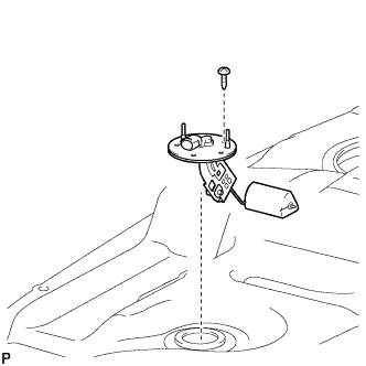 Топливный бак RAV4 1AZ-FE Сборка