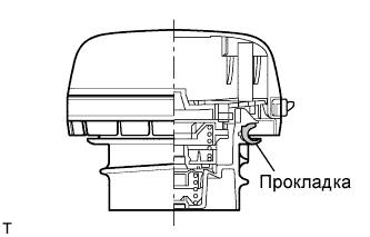 Пробка горловины топливного бака