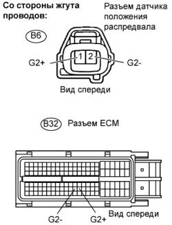 Устранение ошибки P0340 SFI 1AZ-FE