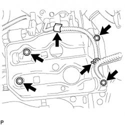 Установка стартера Toyota RAV4