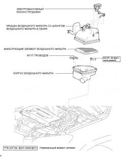 Контролер ( Электронный модуль управления, ECM) SFI 1AZ-FE