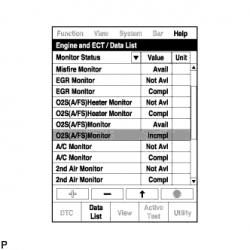 Устранение ошибки P2A00 SFI 1AZ-FE