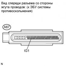 Контрольная лампа ABS остается включенной