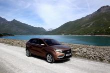 АвтоВАЗ привез в Москву новый концепт Lada XRay 2