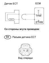 Устранение ошибки P0115 P0117 P0118 SFI 1AZ-FE