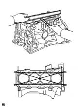 Блок двигателя 1AZ-FE Проверка