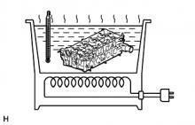 Замена направляющих втулок клапанов двигателя 1AZ-FE