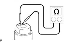Топливный насос 1AZ-FE Проверка