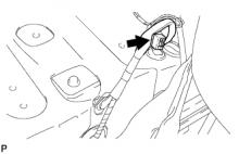 Топливная форсунка 1AZ-FE Снятие