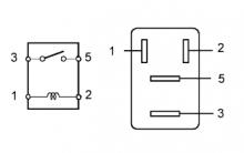 Реле ветилятора системы охлаждения 1AZ-FE Проверка без снятия