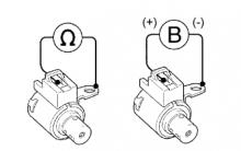 "P0766 Характеристика электромагнитного клапана переключения передач ""D"""