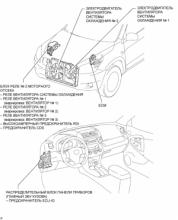Вентилятор системы охлаждения  1AZ-FE