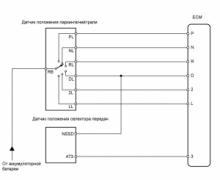 P0705 Неисправность в цепи датчика диапазона трансмиссии